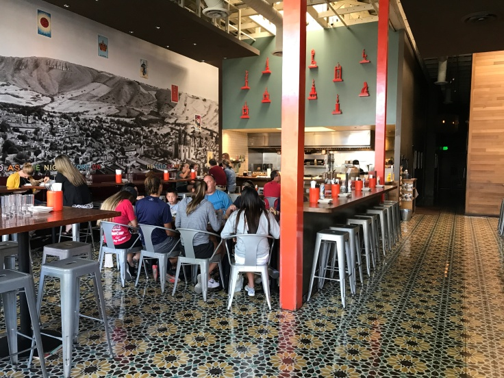 An Interior Shot of Tacolicious Restaurant in Downtown Palo Alto, California