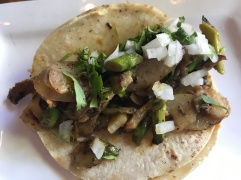 Asparagus and Potato Taco at Tacolicious in Palo Alto, California