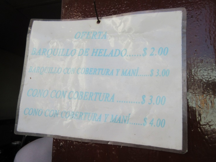 In Pinar del Río, Cuba You'll be Buying Rounds of Ice Cream for Everyone, It's Only .08¢ Per Scoop