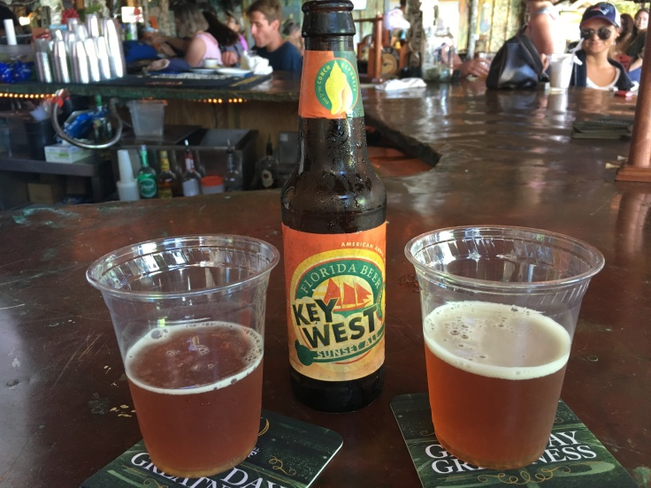 Love is Ale We Need - A Key West Sunset Ale at the Hungry Tarpon in the Florida Keys