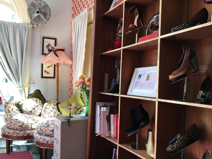 Antique Furniture, Heels and Shoe Books Decorate The Cook, His Wife & Her Shoes in Surry Hills, Australia
