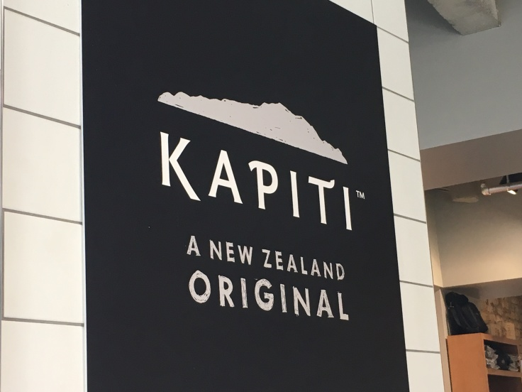 A Sign for The Kapiti Store in Auckland, New Zealand