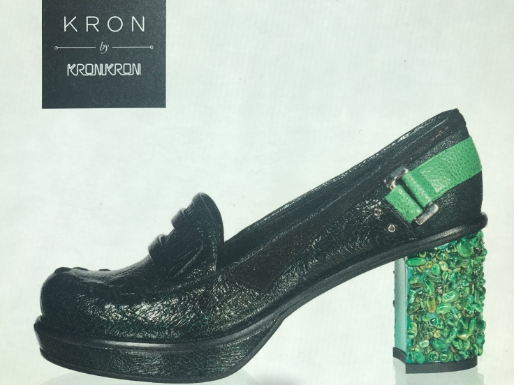 Green with Envy - Kron by Kronkron Shoes in Reykjavík, Iceland
