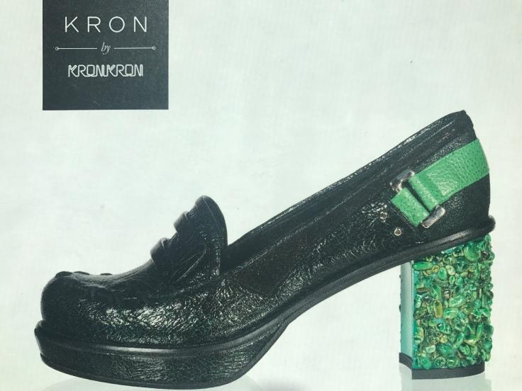 Green with Envy - Kron by Kronkron Shoes in Reykjavík, Iceland