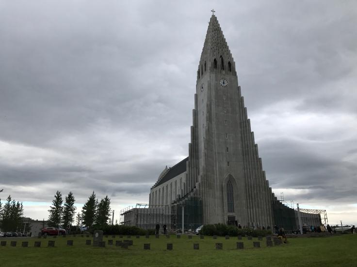 Concrete Church - Hallgrímskirkja in Reykjavík, Iceland