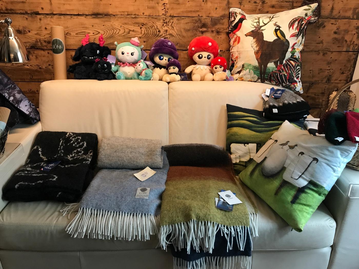 Shop Her Living Room - Blóðberg Icelandic Designs in Seyðisfjörður, Iceland