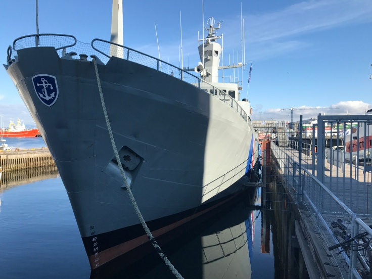 Big Boats and Funky Shops Co-Exist in Reykjavík, Iceland's Grandi Harbor (Old Harbor)