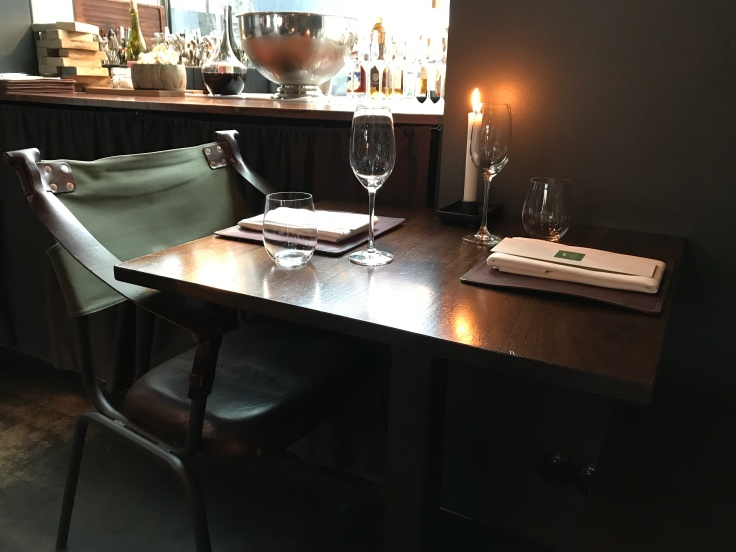 The Scene is Set - A Table for Two at Reykjaviík, Iceland's Michelin Starred Dill Restaurant