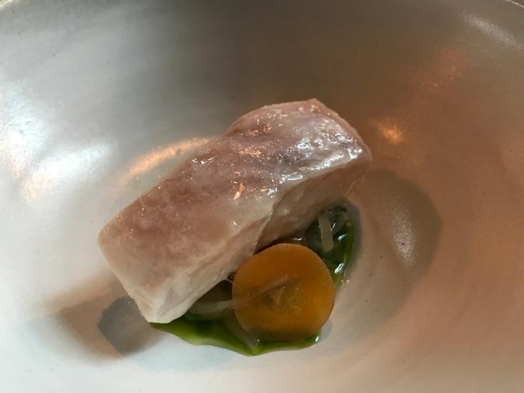 Ocean Perch, Celeriac and Pickled Vegetables - A Dish at Reykjavík, Iceland's Dill Restaurant