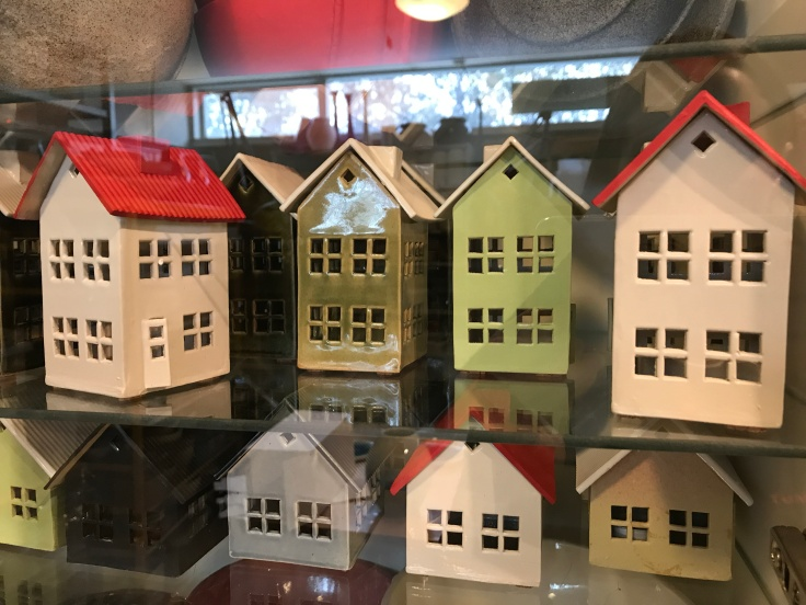 Make Yourself at Home - Tiny Ceramic Houses Adorn the Home Studio of Kristbjörg Guðmundsdóttir in Reyjavík, Iceland