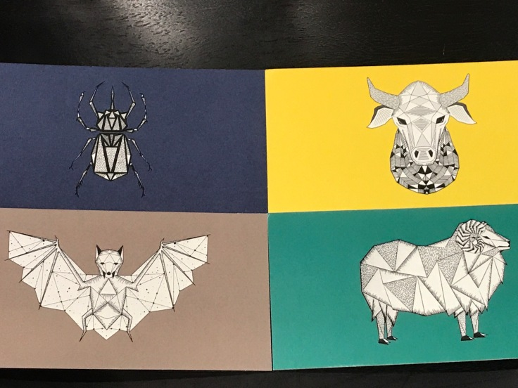 Design Note - Each Omnom Chocolate Bar Has a Corresponding Tasting Card Featuring One of André Úlfur Visage's Beautiful Designs