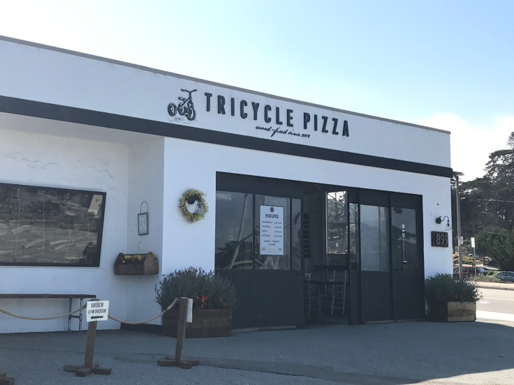 Tricycle Pizza in Monterey, California
