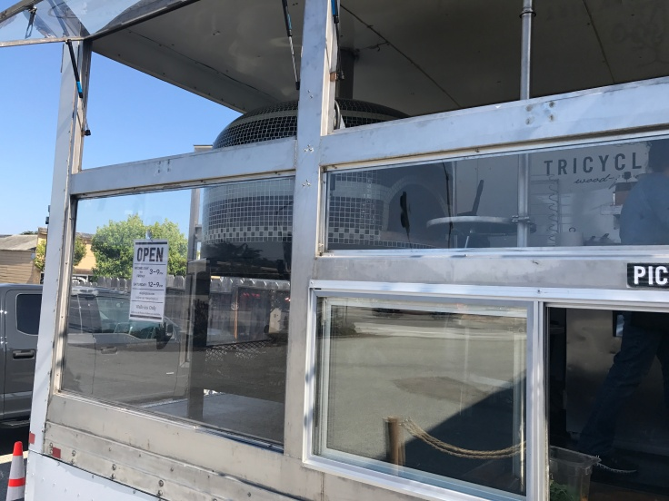 Window Shopping - Monterey's Tricycle Pizza Has Glass Windows Surrounding its Pizza Mobile, so You Can Keep an Eye on Your Grub