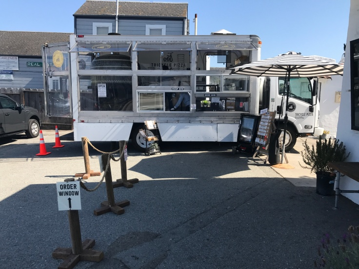 Meals on Wheels - The Tricycle Pizza Truck in Monterey, California