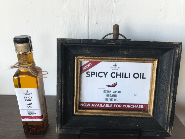 The Perfect Temperature - Monterey's Tricycle Pizza Sells its Homemade Spicy Chili Oil by the Bottle