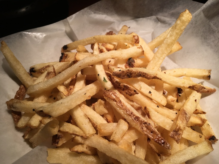 Who Are You Calling Small Fry? The Hand-Cut Truffle Fries at Los Altos Grill in Los Altos, California