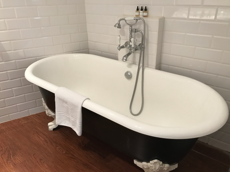 Exploring the Marais Can be Exhausting, A Soak in a Claw Foot Tub at the Hôtel du Petit Moulin in Paris, France Helps Ease the Pain