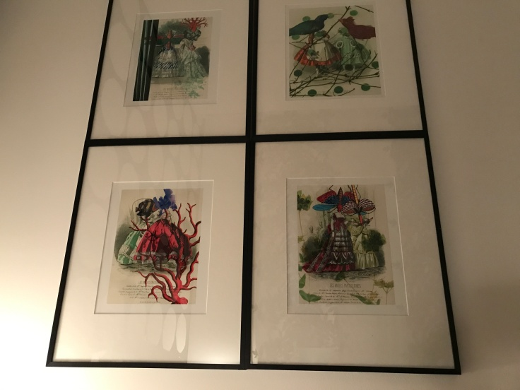 Pretty as a Picture - Christian Lacroix Appointed Images Adorn the Walls of the Rooms at Hôtel du Petit Moulin in Paris, France