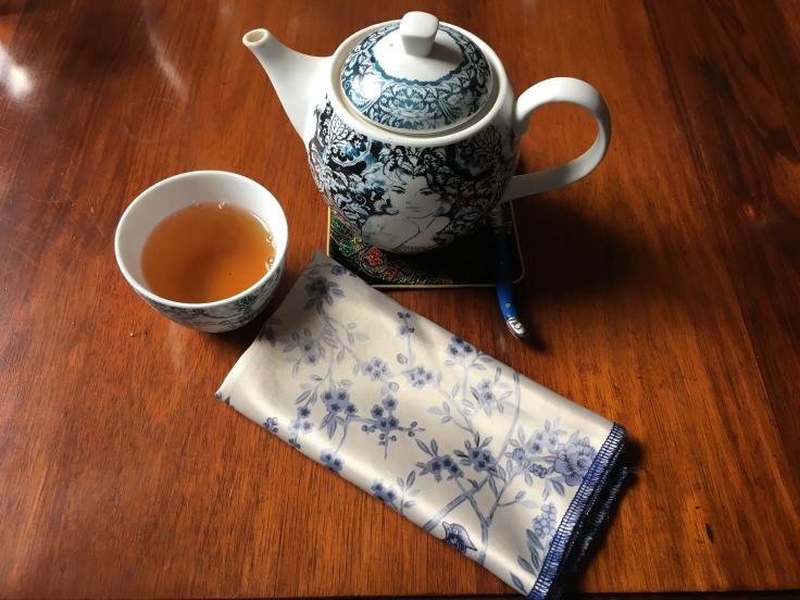 Getaway in a Cup - A Tiny Place in Hobart Serves a Divine Marco Polo Tea from Mariage Frères with a Slight Twinge of Passionfruit