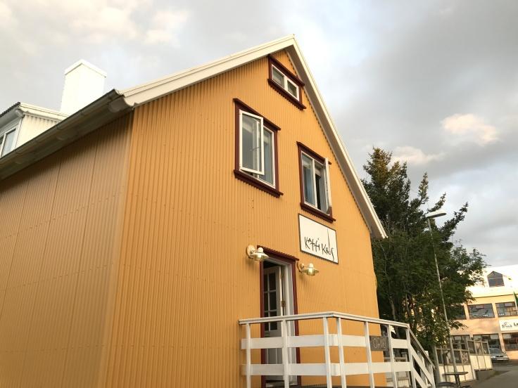 Kaffi Krús in Selfoss, Iceland