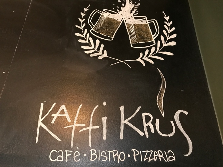 Kaffi Krús Café, Bistro and Pizzeria in Selfoss, Iceland