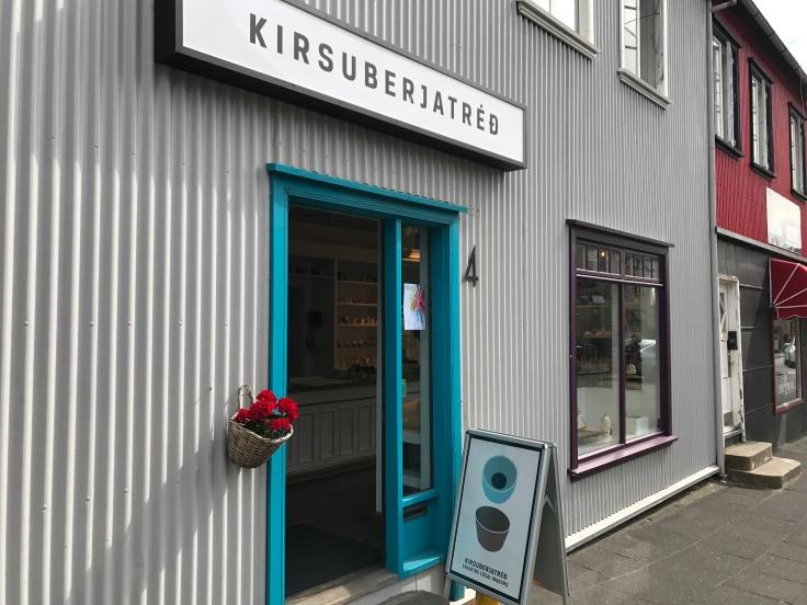 Kirsuberjatréð in Reykjavík, Iceland