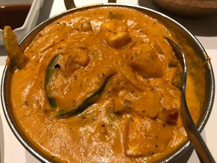 Paneer or Far, Wherever You Are - The Paneer Khrai-Wala at Rangoli India Restaurant in San Jose, California