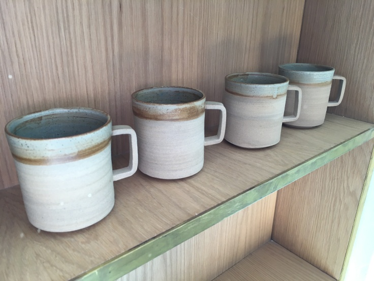 Mug Shot - Lovely Cups From Local Japanese Style Ceramicist Emi Tanaka at Artificer Specialty Coffee Bar & Roastery in Surry Hills Near Sydney, Australia