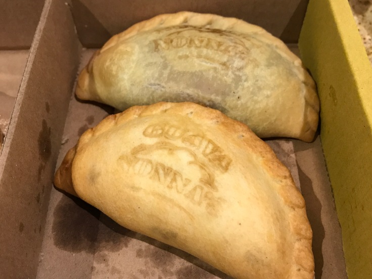 The Sweetness of Following Your Dreams - A Nutella Empanada and a Guava Empanada From Nonna's Empanadas in LA