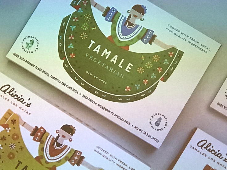 Tasty Tamales Come in Pretty Packages - Boxes of Alicia's Tamales Los Mayas