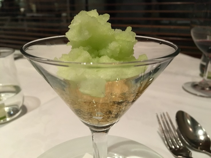 Chilling Out Never Looked so Good - A Palate Cleanser at Tetsuya's Restaurant in Sydney, Australia