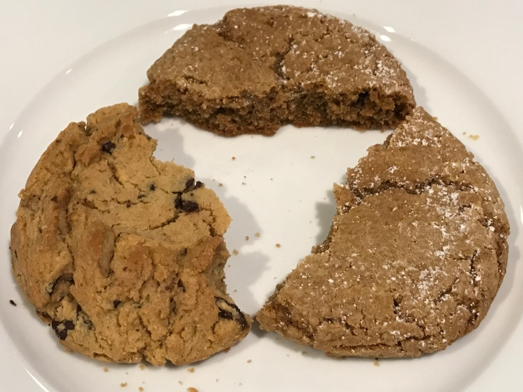 Smart Cookies - Chocolate Peanut Butter Cookies and Sand Angel Cookies From Batter Bakery in San Francisco, California