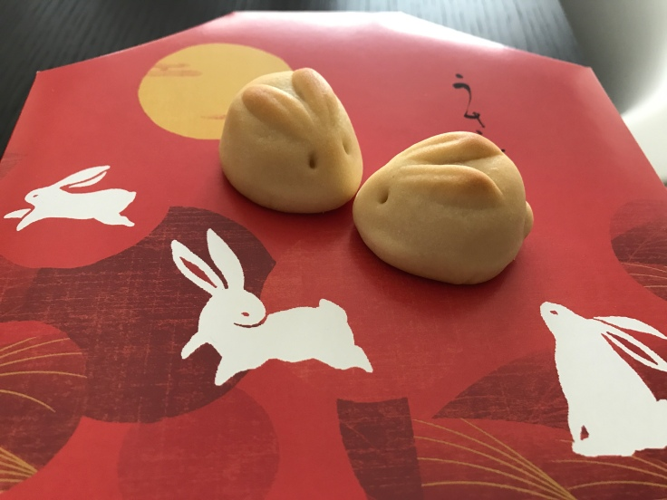 We're Over the Moon for the Rabbit Moon Cakes at Minamoto Kitchoan in Palo Alto, California