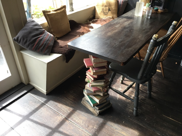 Book End - At The Chop Shop Food Merchants in Arrowntown, New Zealand, the Coffee Is Strong and So Are the Books