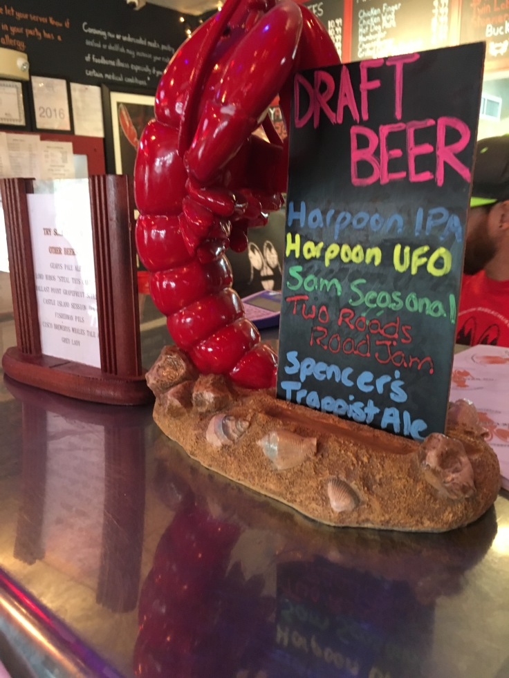 Don't Worry, Beer Happy - Yankee Lobster Company in Boston, Massachusetts