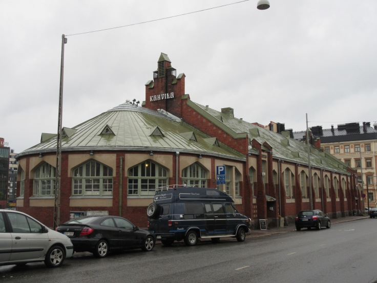 Hietalahti Market Hall in Helsinki, Finland is Home to Fat Ramen and Other Local Food Purveyors
