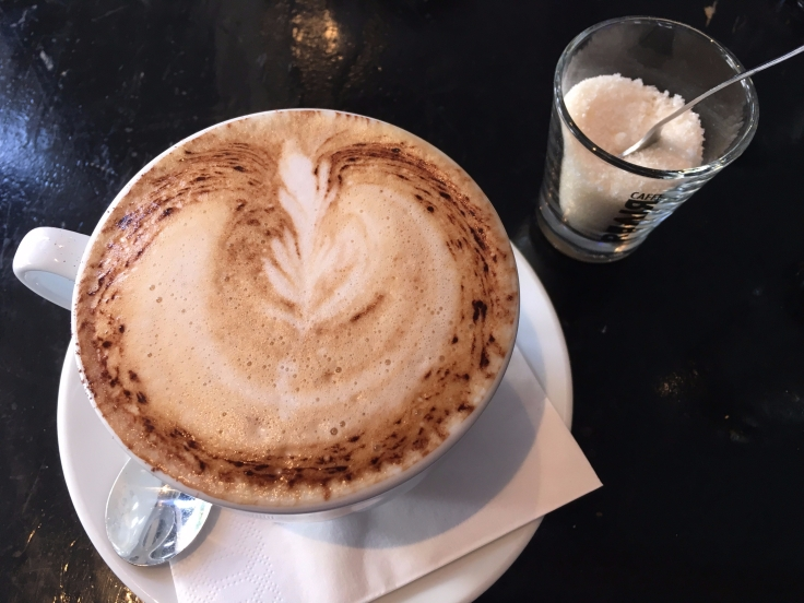 A Spoonful of Sugar Helps the Medicine Go Down - A Cappuccino at Bodega in Copenhagen, Denmark