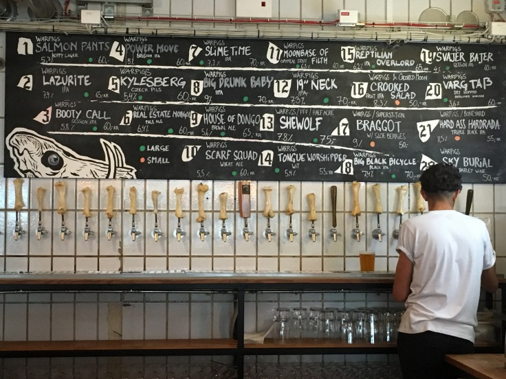 Big Drunk Baby and Shewolf Are Just a Few of the Offerings on Tap at Warpigs in Copenhagen, Denmark