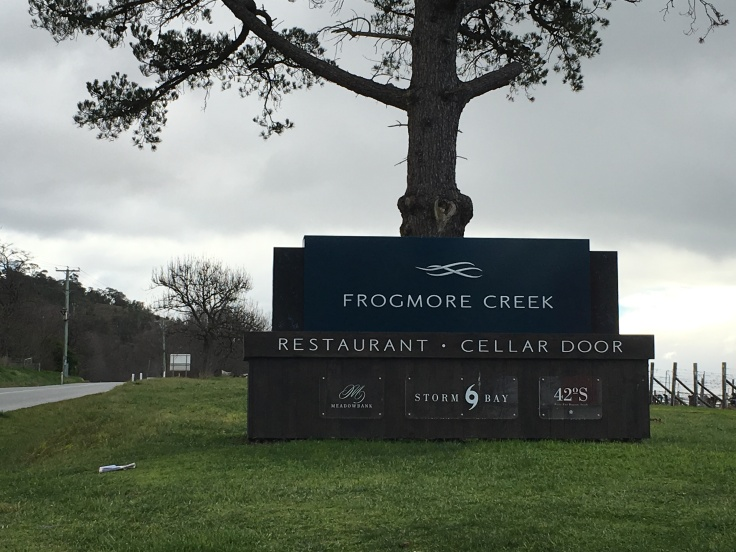 Frogmore Creek Restaurant and Winery Near Hobart, Tasmania