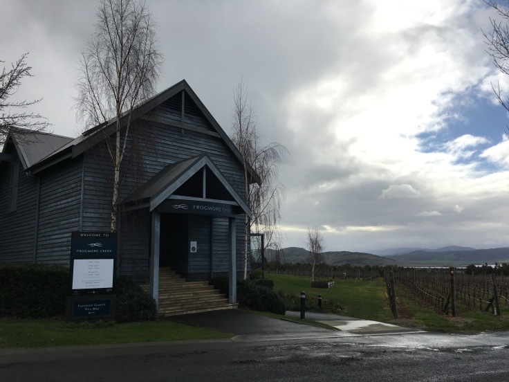 Dreary Days Make Perfect Wine Tasting Days - Frogmore Creek Restaurant and Winery Near Hobart, Tasmania