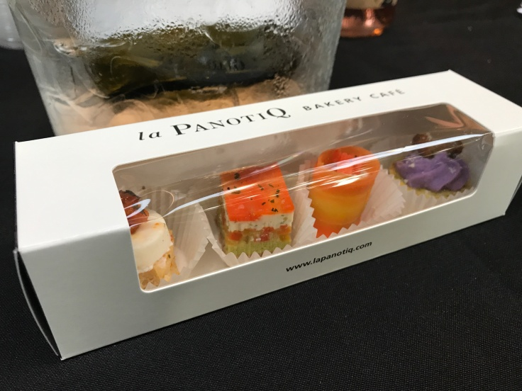 Pretty Petit Fours Served at La PanotiQ in Mountain View, California During its Free Wine Tasting Events on the Third Thursday of Every Month