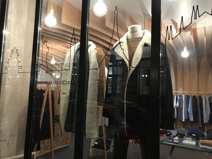 Cuisse de Grenouille's Nouvelle Collection on Display in the Le Marais Boutique in Paris, France