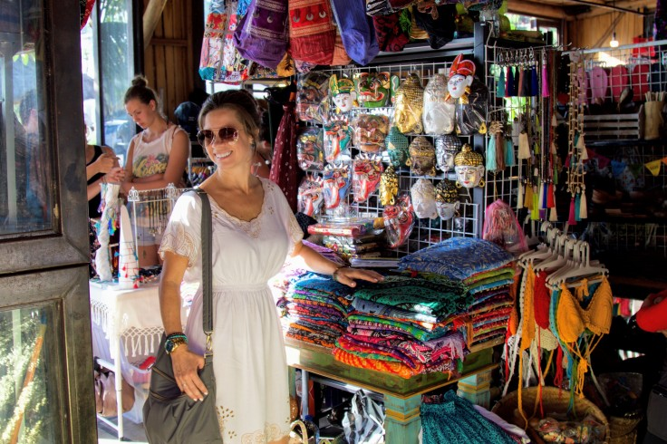 Shop Small - Stephanie Miller Explores a Local Bazaar in Bali - Photo Courtesy of The Scenic Suitcase
