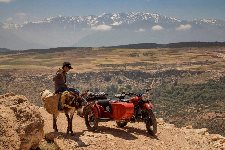 Nice Wheels - A Vintage Side Car Excursions in Marrakech, Morocco – Photo Courtesy of Felix Mathivet