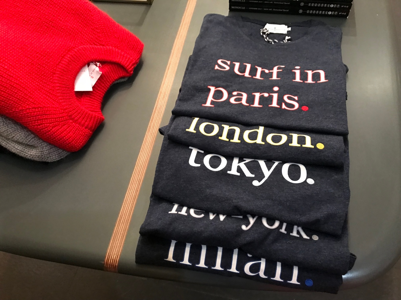Hang Ten and Surf in Paris, London, Tokyo, New York or Miami With the Uber Hip Cuisse de Grenouille Brand Based Out of Paris, France
