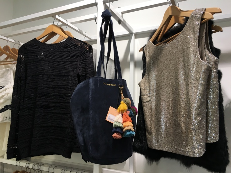 Our Hearts Melted When We Spied The Berber Tote in Midnight From The Wolf Gang at Superette in Wellington, New Zealand