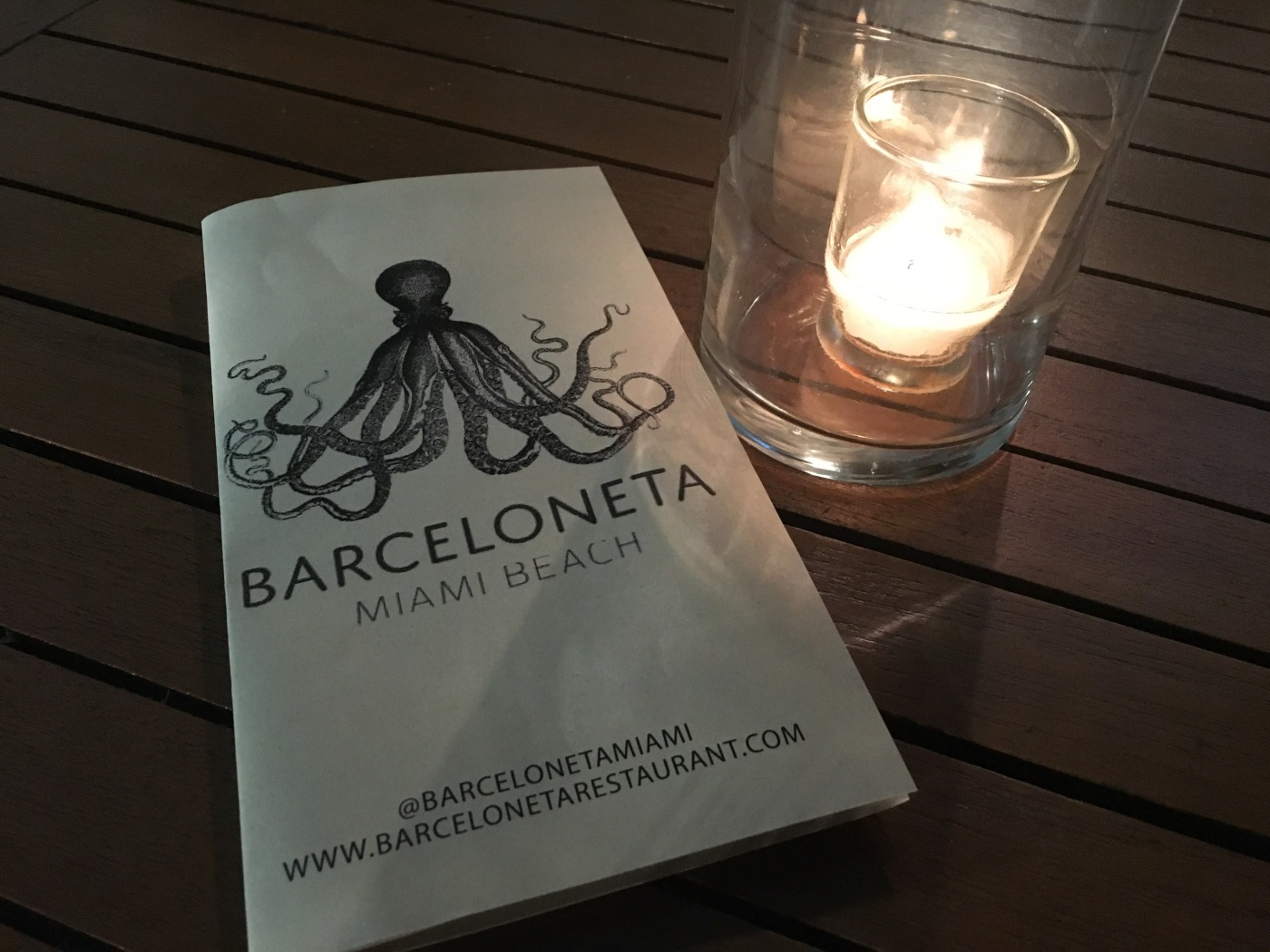 If an Octopus Has Eight Arms, Does that Mean it Can Hold More Tapas Plates Than a Human? Barceloneta in Miami, Florida