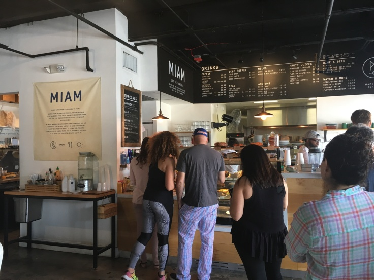 Miam Café in Miami, Florida