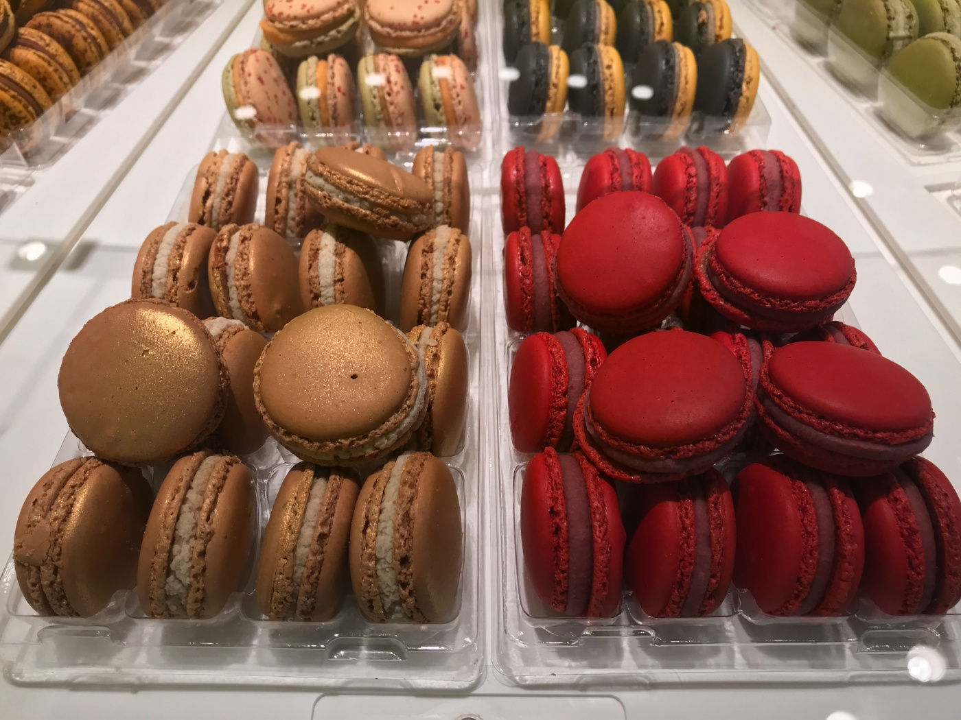 Pretty Macarons at Pierre Hermé in Paris, France
