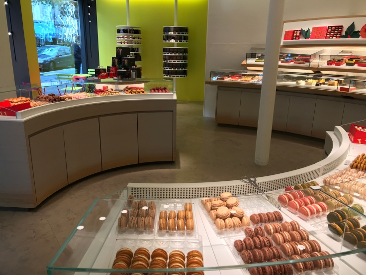 Lovely Loops and Swoops at the Pierre Hermé Boutique in Paris, France